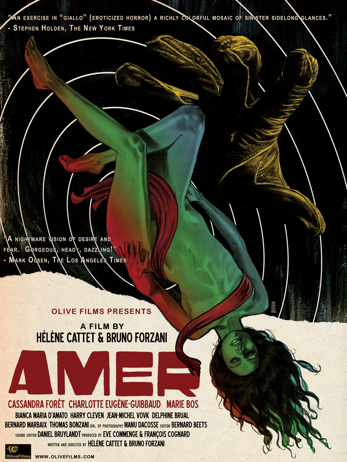 AMER A Film By Hélène Cattet And Bruno Forzani Will Open In NYC & LA On October 29
