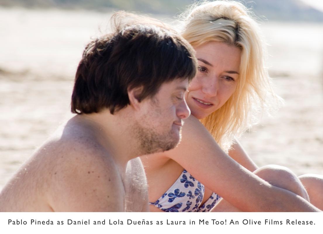 from Spain – ME, TOO, Yo, también, – film opens in NYC Nov. 19; in LA Nov. 26