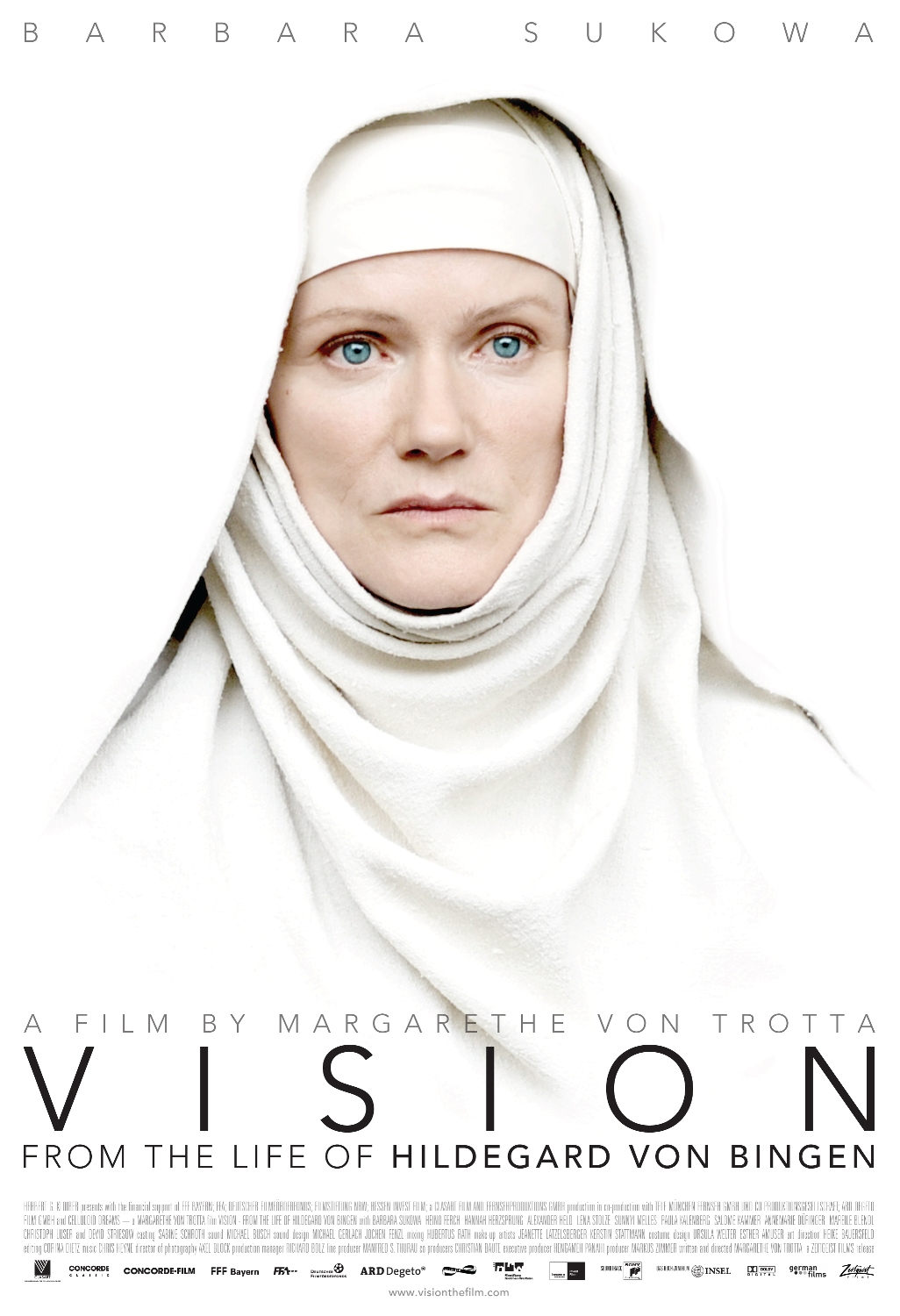 "German Film ""V I S I O N"" Opens In NYC On October 13, And In Los Angeles On November 5."