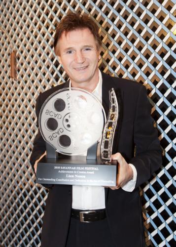 Savannah Film Festival Honors Liam Neeson with the Achievement in Cinema Award