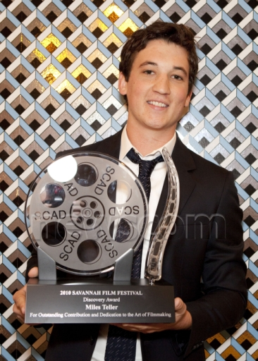 Savannah Film Festival Presents Miles Teller With the 'Discovery Award' October 31