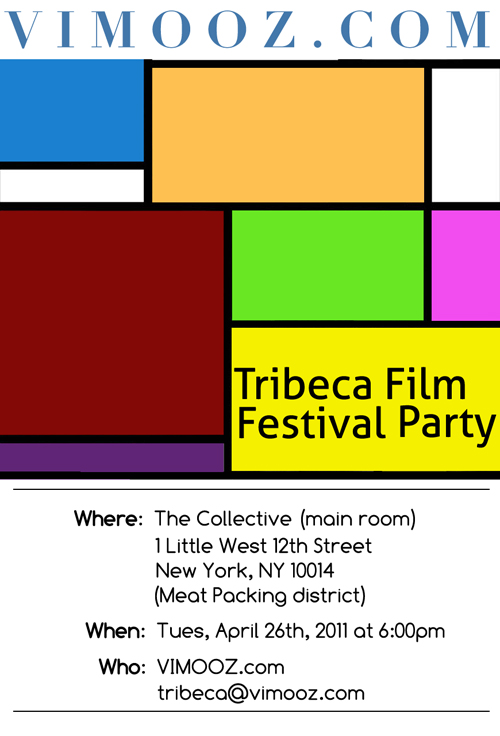 VIMOOZ.com | Tribeca Film Festival Party at The Collective Lounge, Meatpacking District, New York