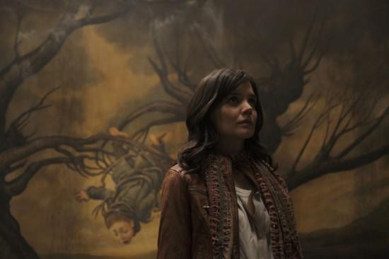 "False Evacuation at LA Film Festival's Closing Night Screening of ""Don't Be Afraid of the Dark""- Starring Katie Holmes"