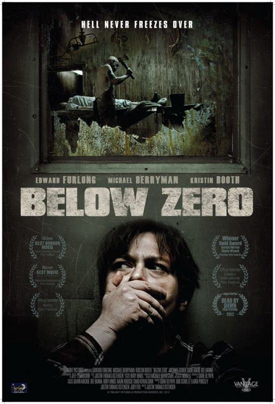 New Poster and Trailer for BELOW ZERO Closing Night Film of 2012 Derby City Film Festival