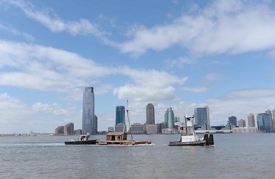 Kon-Tiki Raft Visits New York City