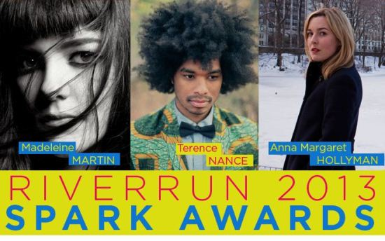 RiverRun International Film Festival to Honor Anna Margaret Hollyman, Terence Nance and Madeleine Martin with 2013 Spark Award