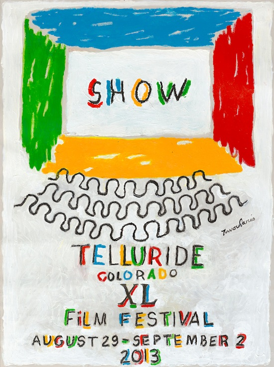 Telluride Film Festival Unveils 40th Anniversary Edition Poster