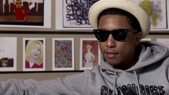Pharrell Williams Partners With Creative Growth Art Center to Launch Youtube Short Film Series