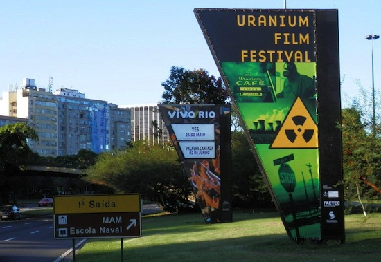"Russian Film ""ATOMIC IVAN"" and U.S. Film ""NUCLEAR SAVAGE"" Win Top Film Awards at Brazil's Rio de Janeiro's Uranium Film Festival 2013"