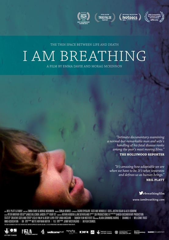 """Documentary """"I AM BREATHING"""" Life-affirming film about man with ALS/Lou Gehrig's Disease in Theaters This Fall 2013"""