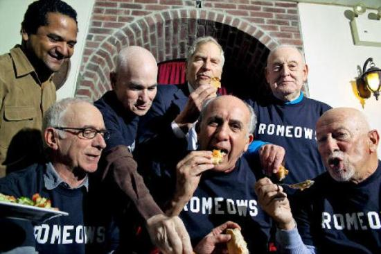 REVIEW: ROMEOWS (Retired Older Men Eating Out Wednesdays)