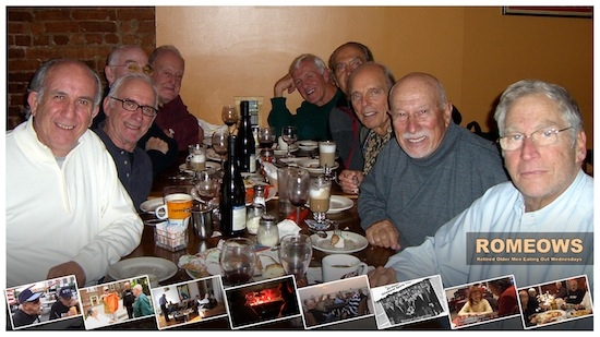 THE ROMEOWS (Retired Old Men Eating Out Wednesdays) Documentary Gets A Release Date