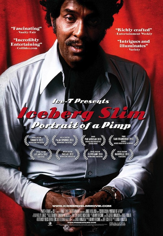 """WATCH Trailer for """"ICEBERG SLIM: PORTRAIT OF A PIMP"""" in Theaters July 19th"""