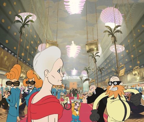 Ari Folman's THE CONGRESS to Open Giant Incandescent Resonating Animation Festival | TRAILER