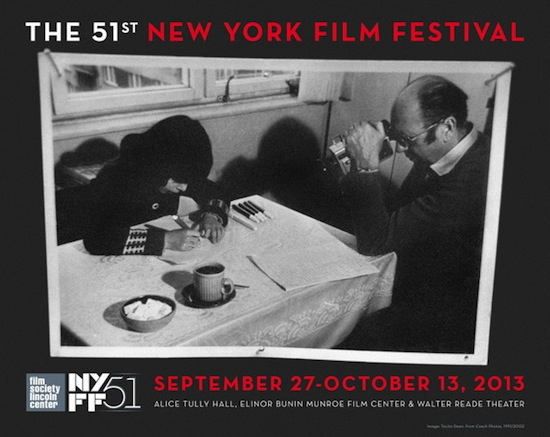 Poster for the 51st New York Film Festival, designed by Tacita Dean