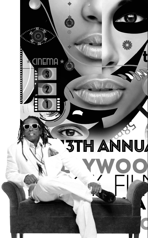 Hollywood Black Film Festival Unveils 2013 Artwork Designed by Vince Fraser