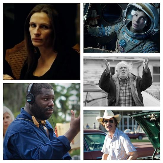 Julia Roberts, Sandra Bullock, Bruce Dern, Matthew McConaughey and Steve McQueen to be Honored at 2014 Palm Springs International Film Festival