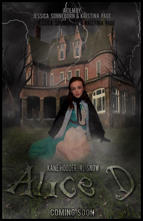 Watch TRAILER for Indie Horror Film ALICE D