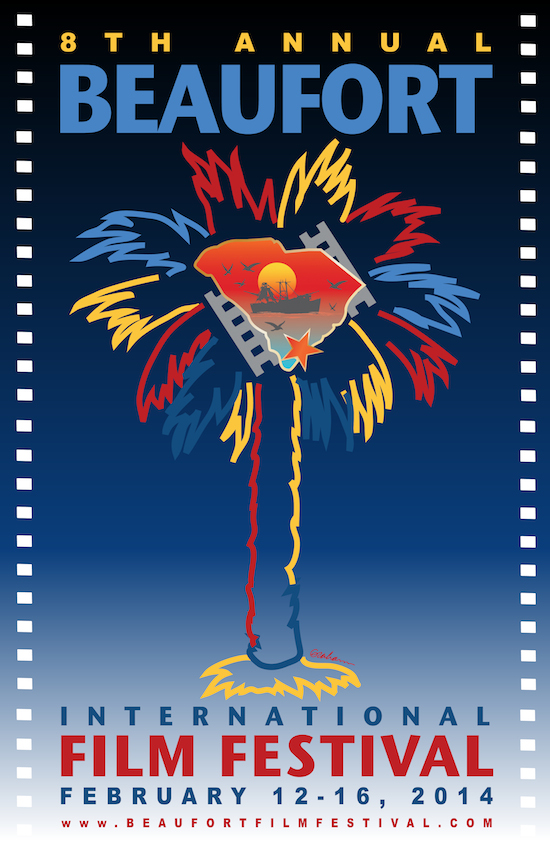 Eighth Annual Beaufort International Film Festival Poster