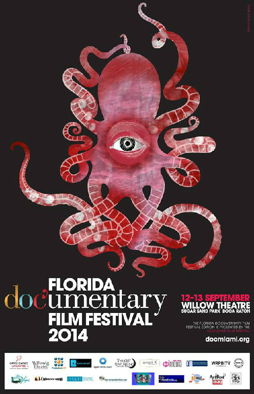 Official Poster Unveiled for the 2014 Florida Documentary Film Festival