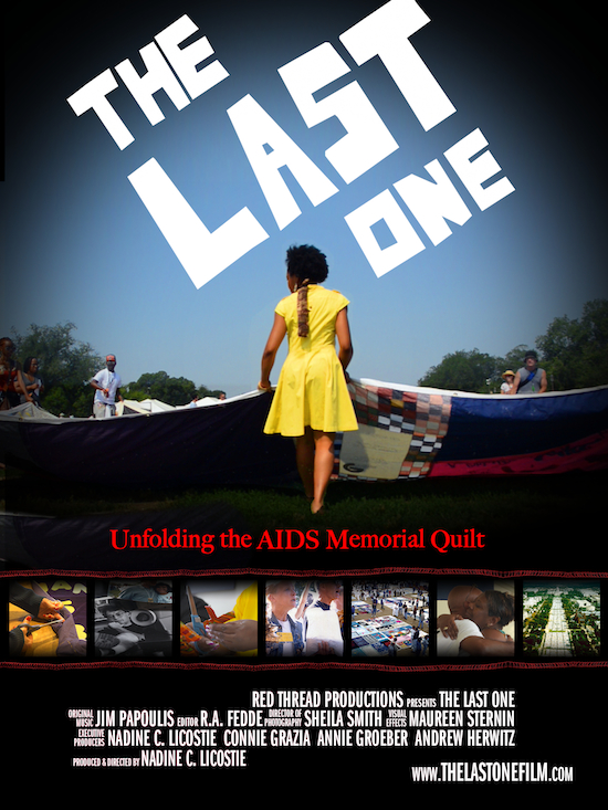 THE LAST ONE, a New Documentary about the AIDS Memorial Quilt to Screen at 2014 American Documentary Film Festival