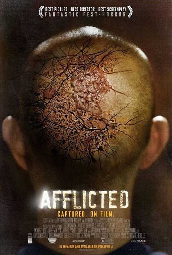 Check out Poster and Trailer for Sci-Fi-Horror Film AFFLICTED