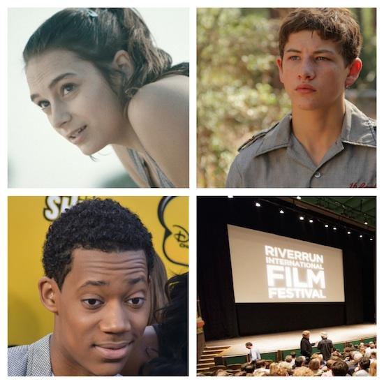 Sophie Desmarais, Tyler James Williams and Tye Sheridan to Receive Sparkle Award at RiverRun Film Festival