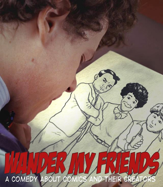"Filmmakers Raz Cunningham and Mel Hardy Talk About Their New Indie Comedy ""Wander My Friends"""