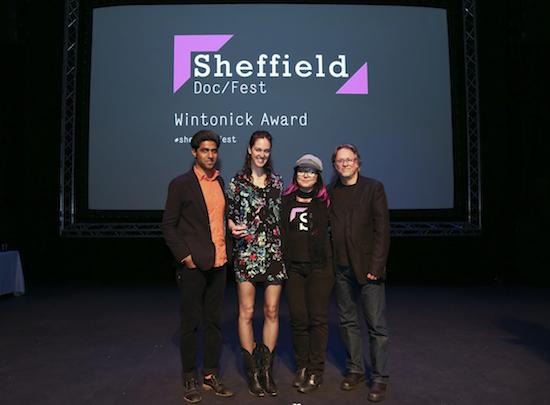 Peter Wintonick Award, celebrating activist filmmaking, was awarded to Vessel
