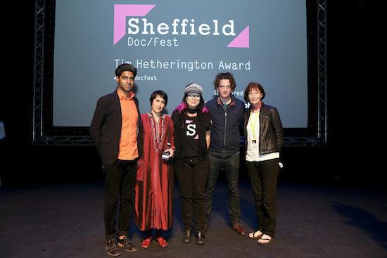 Tim Hetherington Award was awarded to Profession: Documentarist