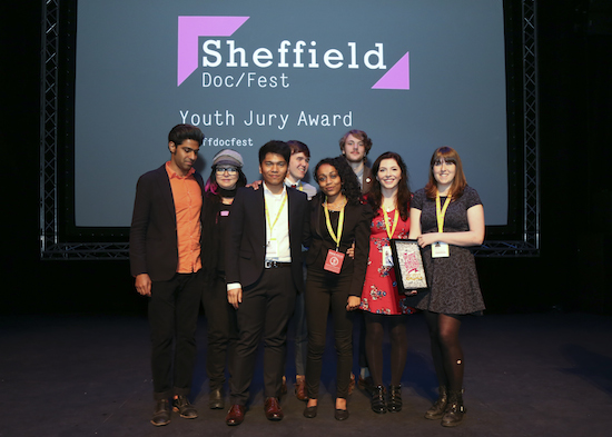 Sheffield Youth Jury Award was awarded to The Internet's Own Boy: The Story of Aaron Swartz