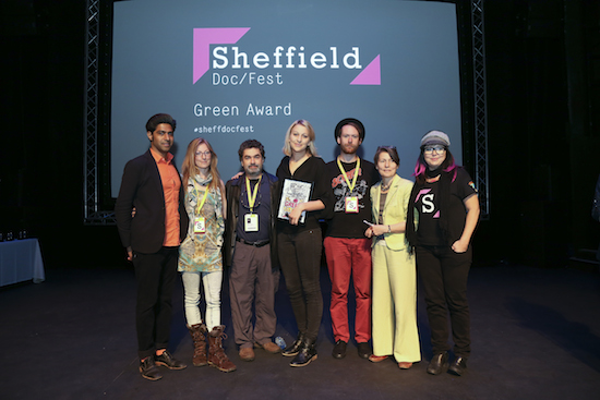 Sheffield Green Award was awarded to Unearthed