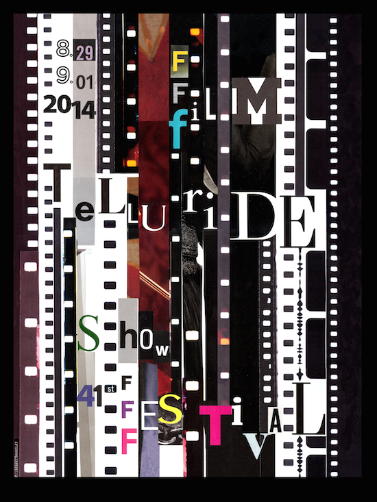 41st Telluride Film Festival Unveils Officlal Poster Created by Artist Christian Marclay