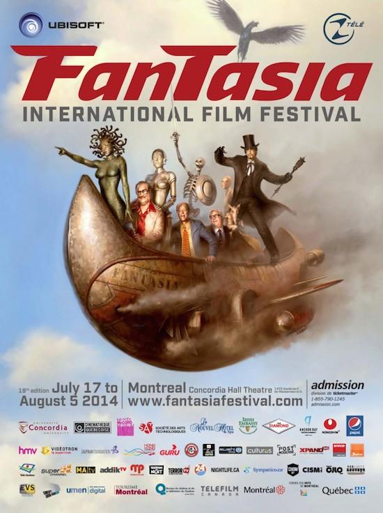 Official Poster Unveiled for 2014 Fantasia International Film Festival