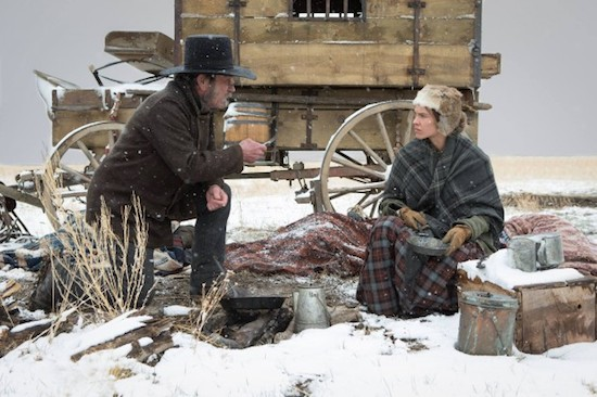 THE HOMESMAN Directed by Tommy Lee Jones and Starring Hilary Swank is Centerpiece Film for 2014 Hamptons International Film Festival