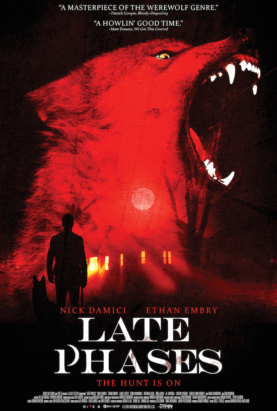Official Poster for Thriller LATE PHASES Starring Nick Damici