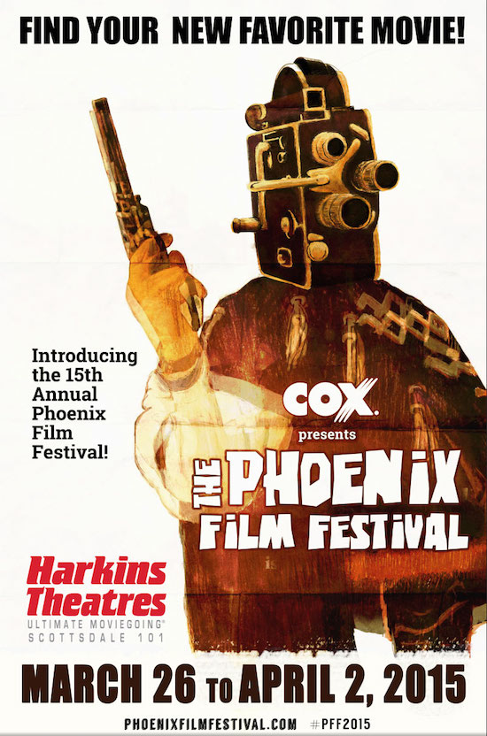Artwork and Dates Released for 2015 Phoenix Film Festival