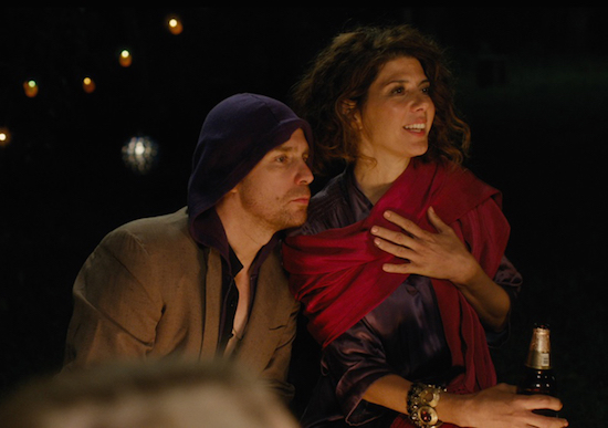 """Loitering with Intent"" Starring Marisa Tomei, Sam Rockwell"
