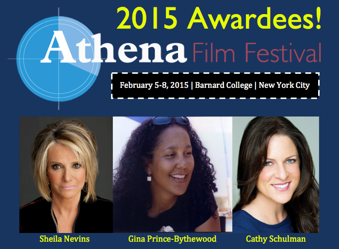 Athena Film Festival Announces 2015 Dates and Award Honorees