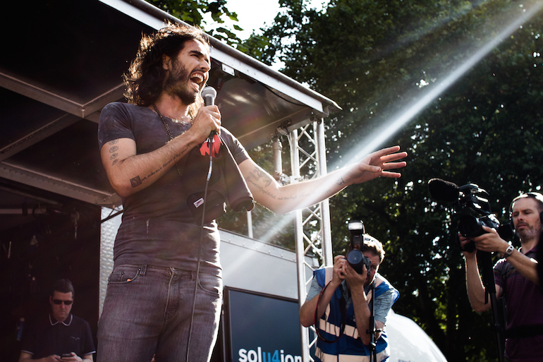 Russell Brand Documentary to Open 2015 SXSW