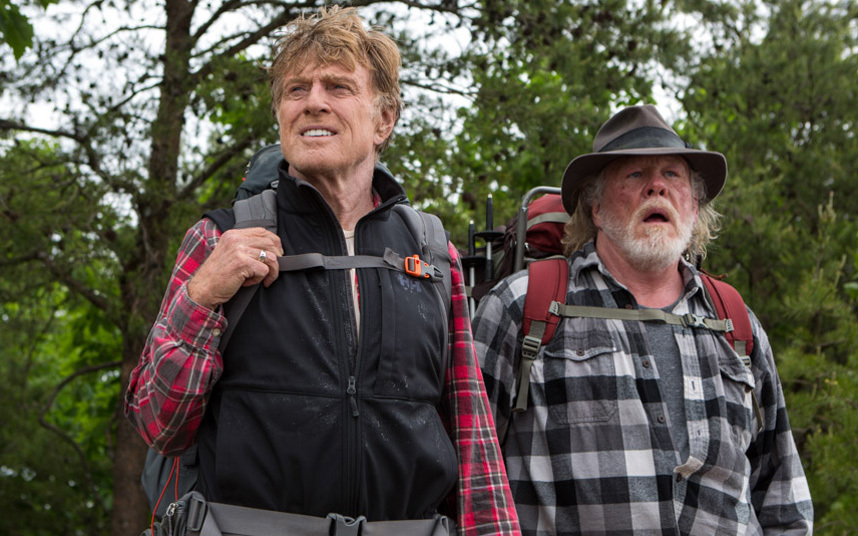 A Walk in the Woods starring Robert Redford, Nick Nolte and Emma Thompson