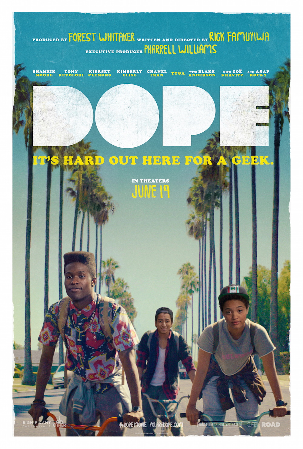 Pharrell Williams Reveals DOPE Movie Official Poster on Instagram