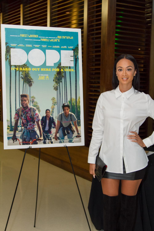 Terrence J, Draya Michele, Mack Wilds Attend DOPE LA, NYC Screenings