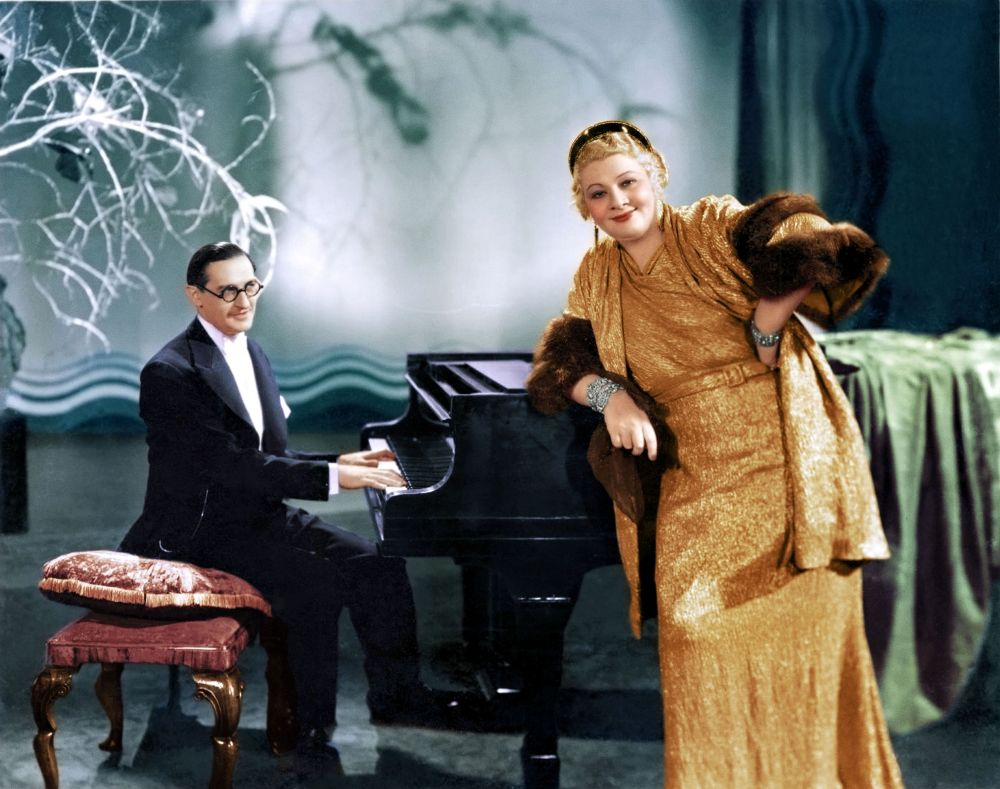 Who is THE OUTRAGEOUS SOPHIE TUCKER?