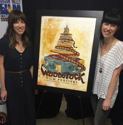 2015 Woodstock Film Festival Unveils Official Poster by JOY + NOELLE