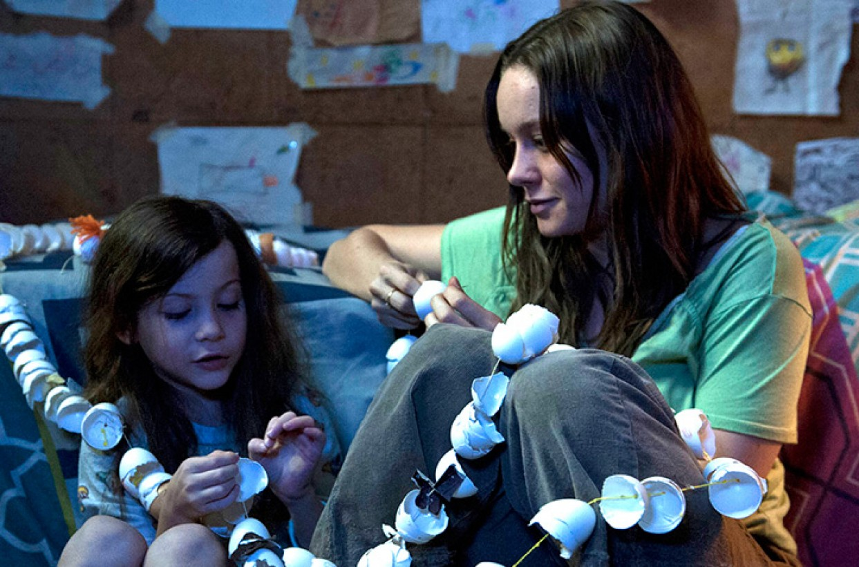 ROOM, directed by Lenny Abrahamson and starring Brie Larson, Jacob Tremblay, William H. Macy and Joan Allen