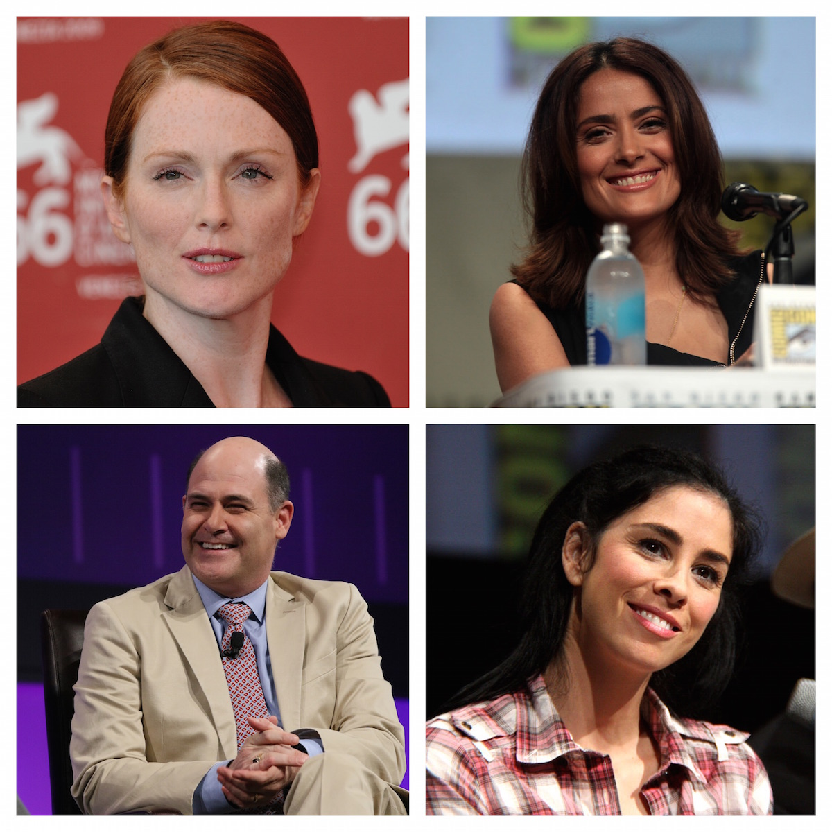 2015 Toronto International Film Festival In Conversation With … Lineup to Feature Julianne Moore, Salma Hayek, Sarah Silverman, and Matthew Weiner