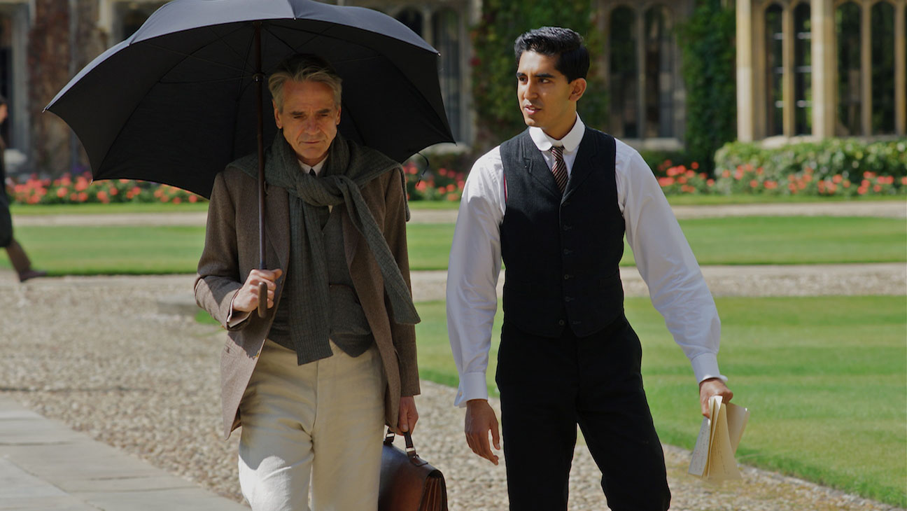 THE MAN WHO KNEW INFINITY Starring Jeremy Irons, Dev Patel to Open Zurich Film Festival