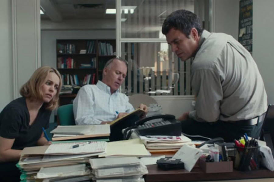 'Spotlight' 'Amy' 'Son of Saul' Among Washington, D.C. Area Film Critics Best Films of 2015