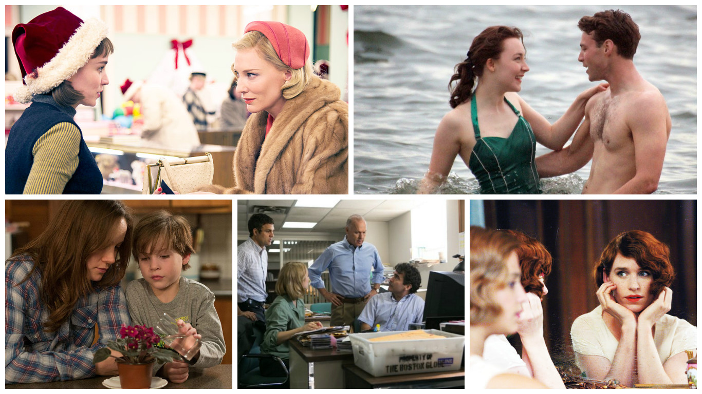 'Carol' 'Brooklyn' 'The Danish Girl' 'Spotlight' Among 21st Critics' Choice Awards Nominations